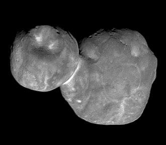 Classical Kuiper belt object - Image: 2014MU69 MVIC crop 2