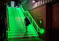 2015 US Open Tennis - Tournament - The Green Stairway Leading up to Heineken House (a restaurant) (20579046703).jpg