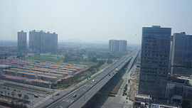 201603 Overview of Xidong New Town.JPG
