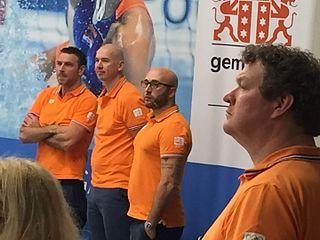 Arno Havenga Dutch water polo player