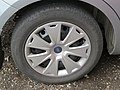 2017-09-28 (175) Continental PremiumContact 205-55 R 16 91 H tire in Krems an der Donau at port.jpg