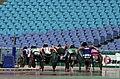 231000 - Athletics wheelchair racing 800m heat athletes action - 3b - 2000 Sydney race photo.jpg
