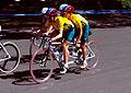 261000 - Cycling road Lynette Nixon Lyn Lepore action - 3b - 2000 Sydney race photo.jpg