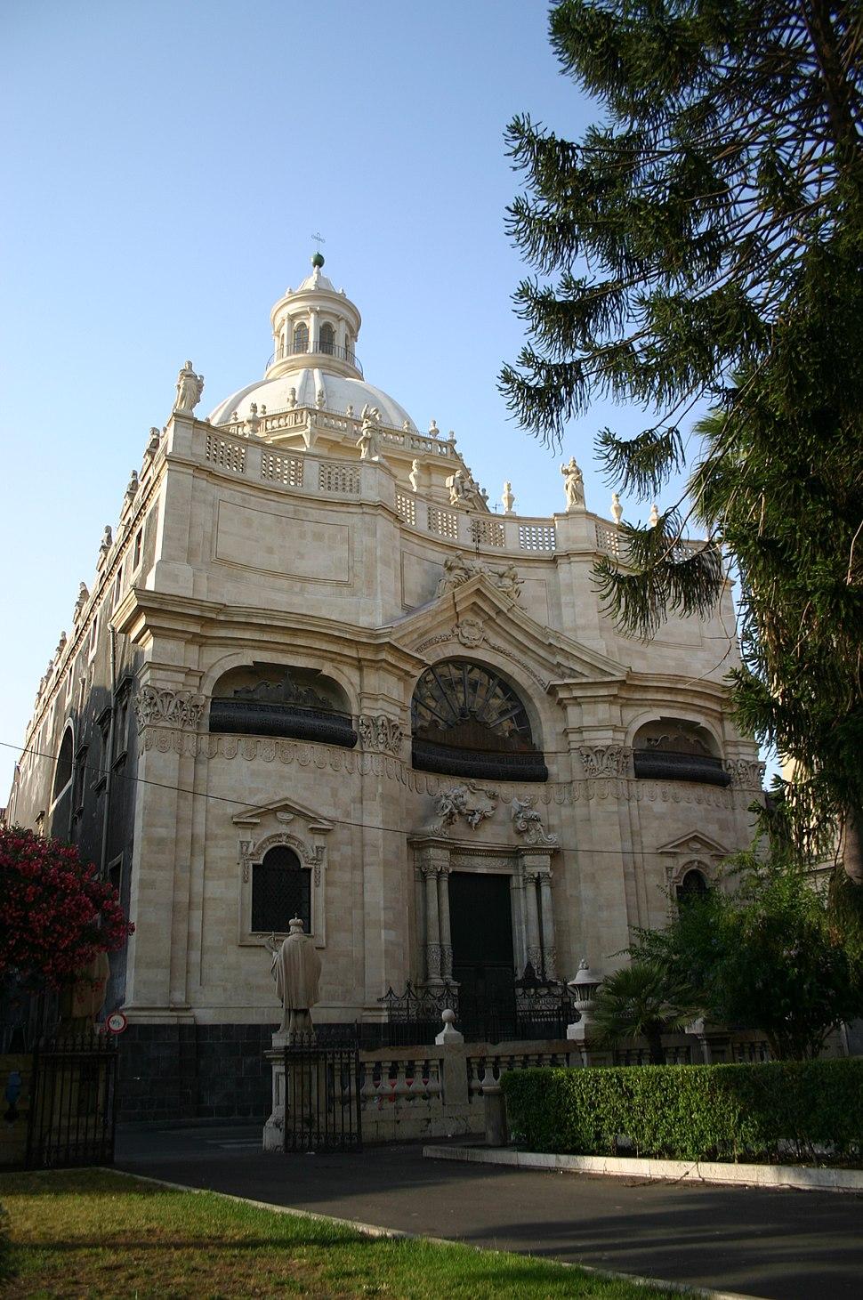 2893 - Catania - Giov. Batt. Vaccarini - Chiesa della Badia di S. Agata (1767) - Foto Giovanni Dall'Orto, 4-July-2008