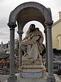 289 Cementiri, sepulcre Solà-Vinardell, Pietat de Venanci Vallmitjana.jpg