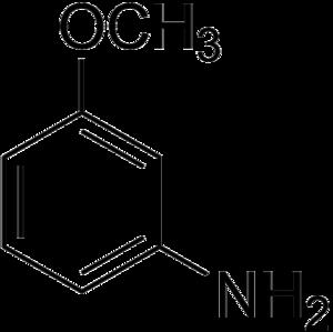 M-Anisidine - Image: 3 Anisidine