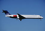 314be - Scandinavian Airlines MD-87, LN-RMH@ZRH,02.09.2004 - Flickr - Aero Icarus.jpg