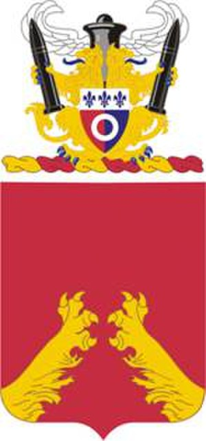 3rd Battalion, 321st Field Artillery Regiment - Coat of arms