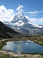 3949 - Gornergrat - Matterhorn and Riffelsee.JPG