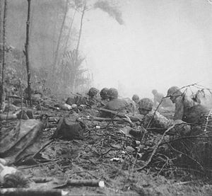 1st Battalion, 3rd Marines - U.S. Marines from 1/3 fighting on Bougainville in 1943.