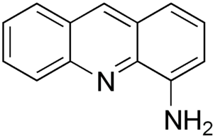4-Aminoacridine - Image: 4 aminoacridine