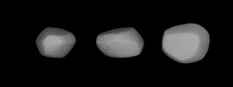 417 Suevia - A three-dimensional model of 417 Suevia based on its light curve