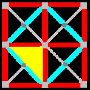 Tetrakis square tiling - Image: 442 symmetry 00a