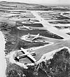 Isley Field Historic District 497th Bomb Group B-29s on Hardstands Isley Field Saipan.jpg
