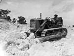 5 Airfield Construction Sqn bulldozer 1944.jpg