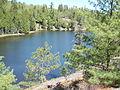 82 Minow Lake, Nanabush Trail. Petroglyph Provincial Park.JPG