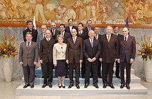 Janez Janša - Janez Janša's cabinet in 2004