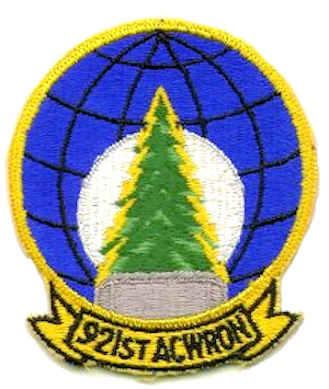 Saint Anthony Air Station - Image: 921st Aircraft Control and Warning Squadron Emblem