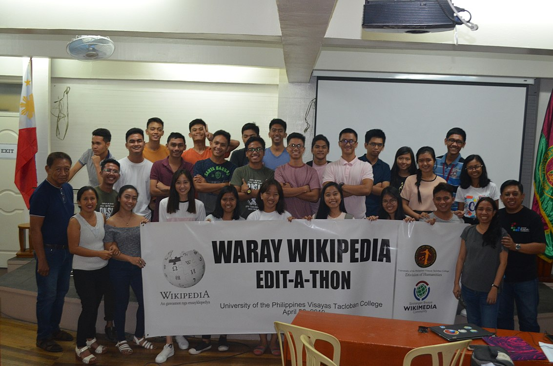 9th Waray Wikipedia Edit-a-thon 47.JPG