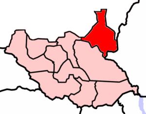 SPLA-Nasir - Upper Nile borders Ethiopia to the east.