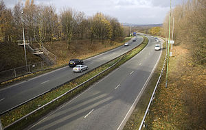 A666 road - Image: A666 st peters way bolton