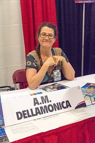 A. M. Dellamonica - A.M. Dellamonica at FanExpo 2013 in Toronto