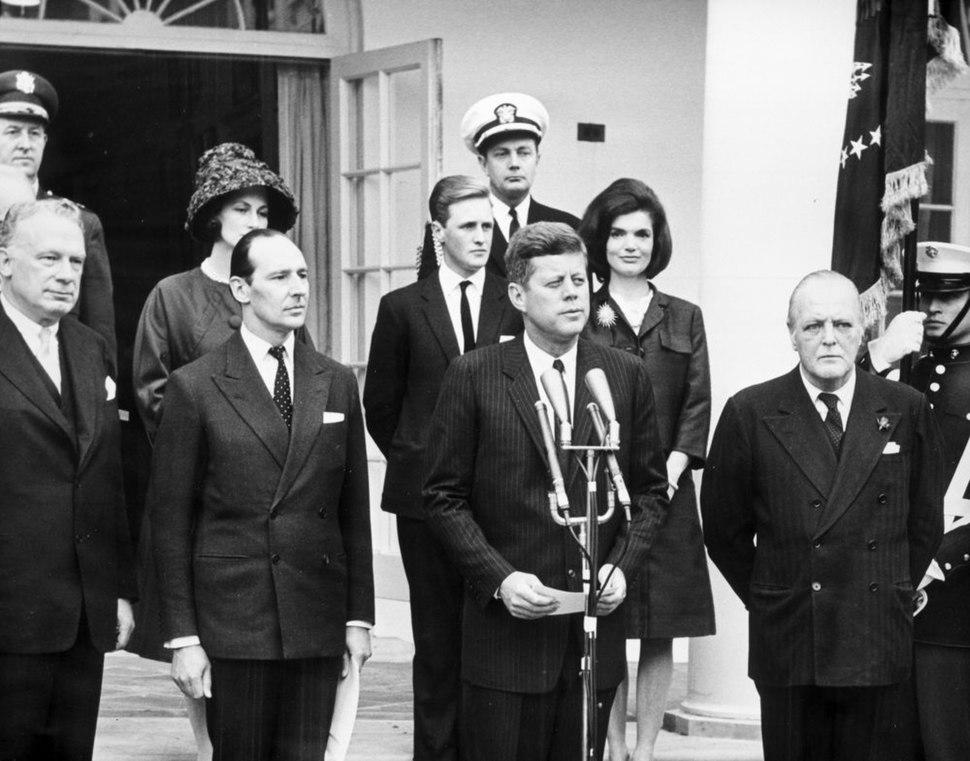 AR7813-E. President John F. Kennedy Declares Sir Winston Churchill an Honorary Citizen of the United States