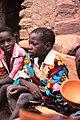 ASC Leiden - W.E.A. van Beek Collection - Dogon portraits 03 - Atime Dogolu Saye during the buro festivities, Tireli, Mali 1981.jpg