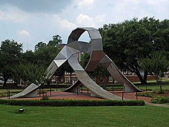 Alabama State University - ASU Equinox sculpture