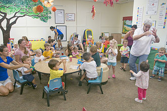 Music education for young children - Image: ASYMCA to launch new preschool classes in 2014 131106 D RT812 014