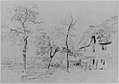 A Farmhouse with a Thatched Roof and Trees Beside a River MET 264990 1996.582.4.jpg