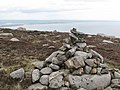 A cairn on the summit of Slievenagarragh - geograph.org.uk - 2423409.jpg