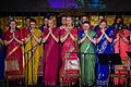 A concert performance by women in Saris, New York.jpg