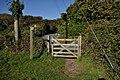 A gate leading to Hannaburrow Lane - geograph.org.uk - 2126622.jpg