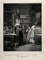 A nun with two ill children in a convent pharmacy, surrounde Wellcome V0010847.jpg