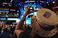 A woman records the invocation at the Democratic National Convention, Charlotte, North Carolina, September 4, 2012.jpg