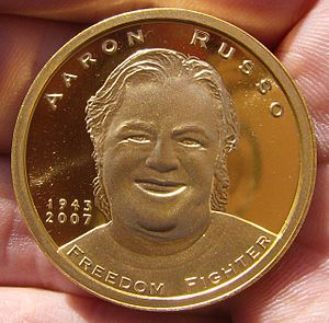 Aaron Russo - The Aaron Russo Gold Commemorative Memorial Piece.