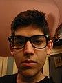 Aaron Swartz self-portrait.JPG