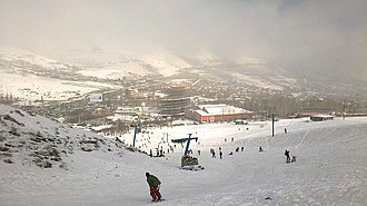 Abali - Image: Ab'ali ski resort inside