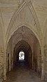 Abbaye Saint-Étienne Bassac passage with Groin vault.jpg