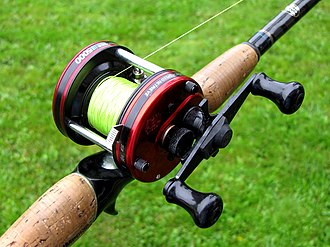 Fishing reel - A baitcasting reel