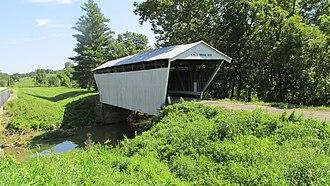 Kirker Covered Bridge - Image: Adams County OH Kirker Covered Bridge
