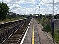 Addlestone station look east.JPG