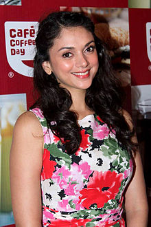 Aditi Rao Hydari at Cafe Coffee Day 05.jpg