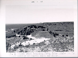 Second Battle of Adobe Walls - Adobe Walls photograph published 1908
