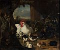 Adriaen Coorte - Hen and her chicks.jpg