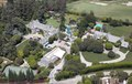 Aerial view of Hugh Hefner's Mansion located in Los Angeles, California LCCN2013632723.tif