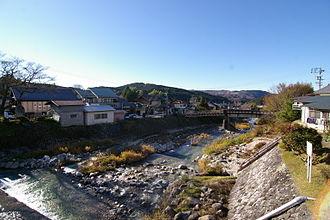 Agi River - The Agi River in Nakatsugawa