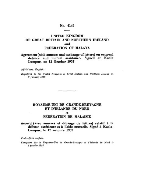 Fileagreement On External Defence And Mutual Assistance Between The