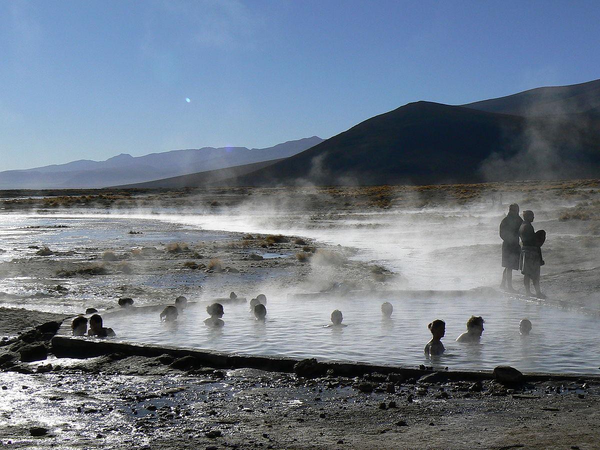 Agua termal wikcionario for Aguas termales naturales madrid